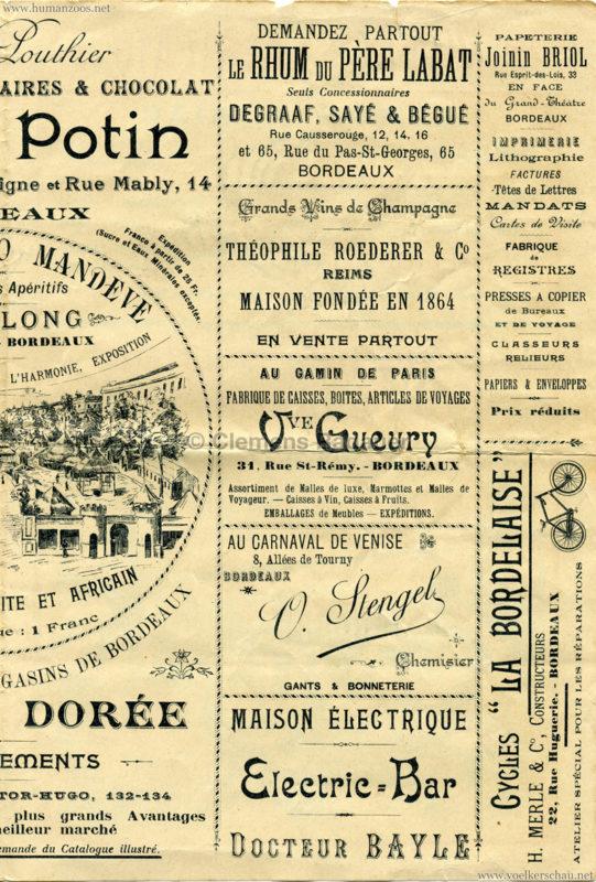 1895 Exposition de Bordeaux - Theatre Asiatique 3
