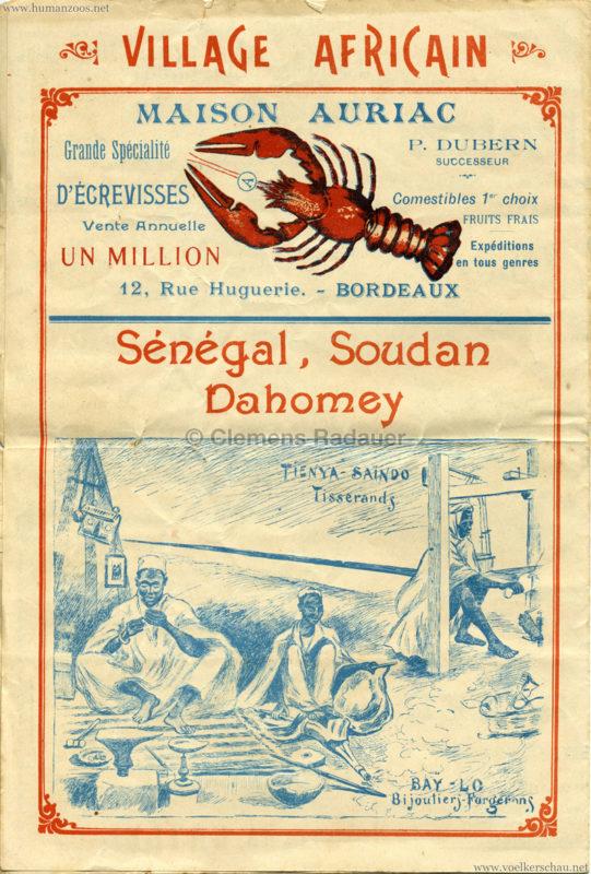 1895 Exposition de Bordeaux - Theatre Asiatique 4