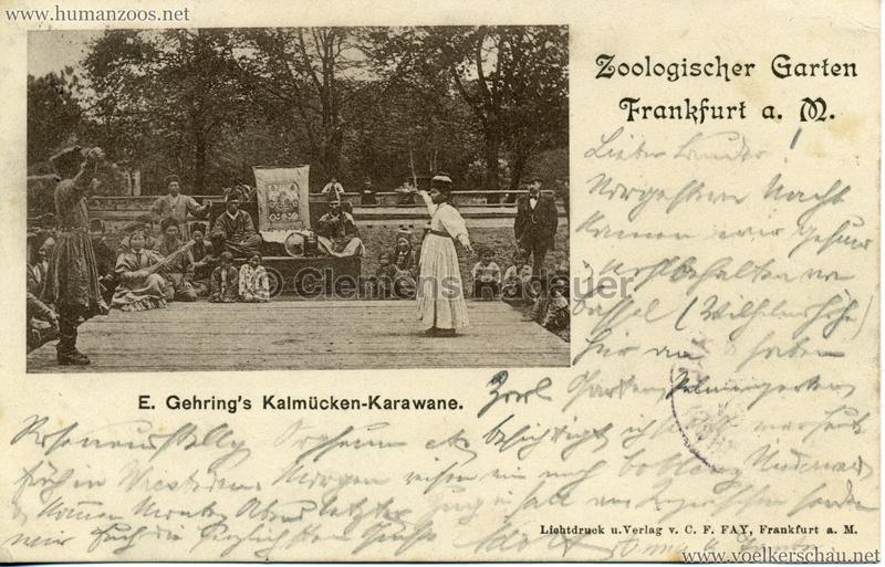 1897 E. Gehrings Kalmücken-Karawane im Zoologischen Garten Frankfurt a. Main 3