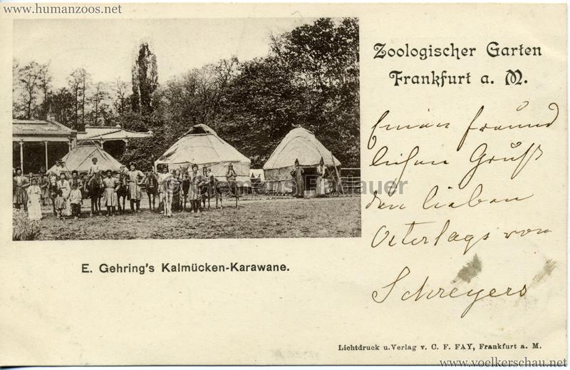 1897 E. Gehrings Kalmücken-Karawane im Zoologischen Garten Frankfurt a. Main 2