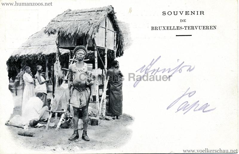 1897 Exposition Internationale de Bruxelles Tervueren