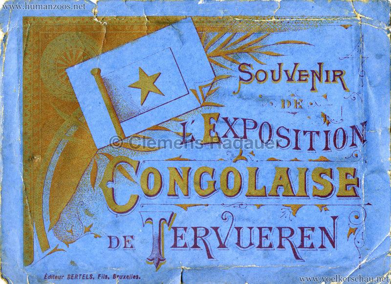 1897 Exposition Internationale de Bruxelles Tervueren - Souvenire de l'Exposition Congolaise 1
