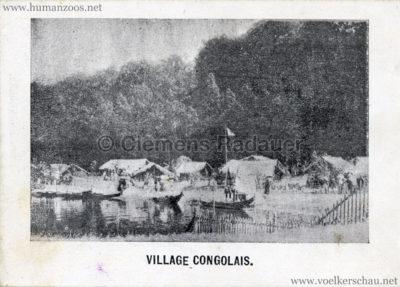 1897 Exposition Internationale de Bruxelles Tervueren - Souvenire de l'Exposition Congolaise 10
