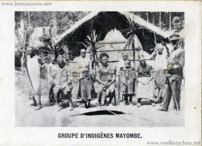 1897 Exposition Internationale de Bruxelles Tervueren - Souvenire de l'Exposition Congolaise 5