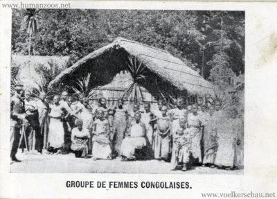 1897 Exposition Internationale de Bruxelles Tervueren - Souvenire de l'Exposition Congolaise 7