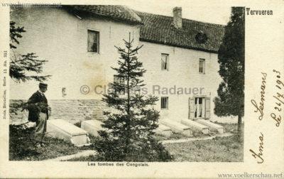 1897 Exposition Internationale de Bruxelles Tervueren - Tombes des Congolais 2