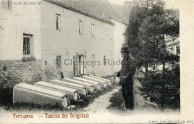 1897 Exposition Internationale de Bruxelles Tervueren - Tombes des Congolais