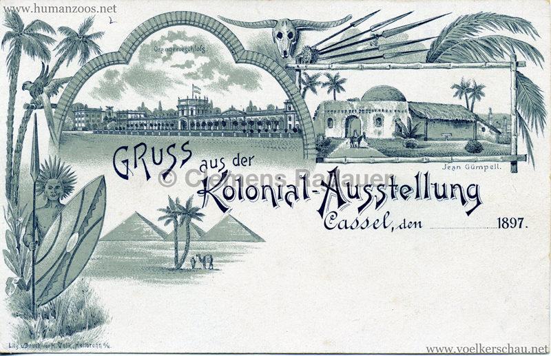 1897 Kolonial-Ausstellung Cassel (Kassel)