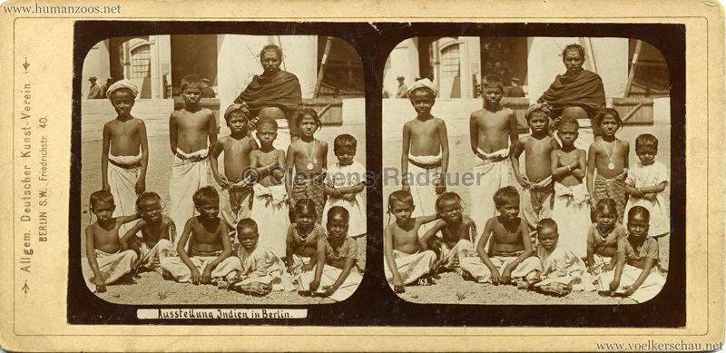 1898 Carl Hagenbeck's Indien - Ausstellung Indien in Berlin 163