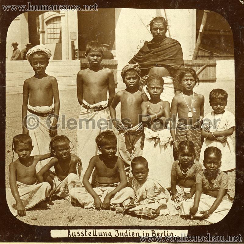 1898 Carl Hagenbeck's Indien - Ausstellung Indien in Berlin 163 detail
