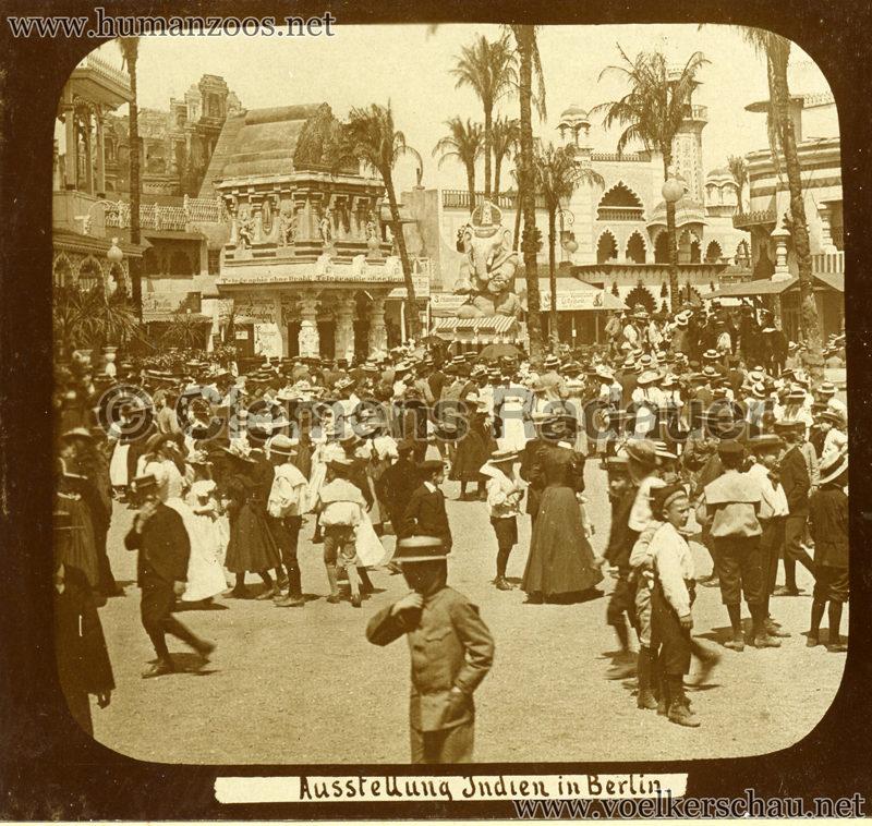 1898 Carl Hagenbeck's Indien - Ausstellung Indien in Berlin 165 detail