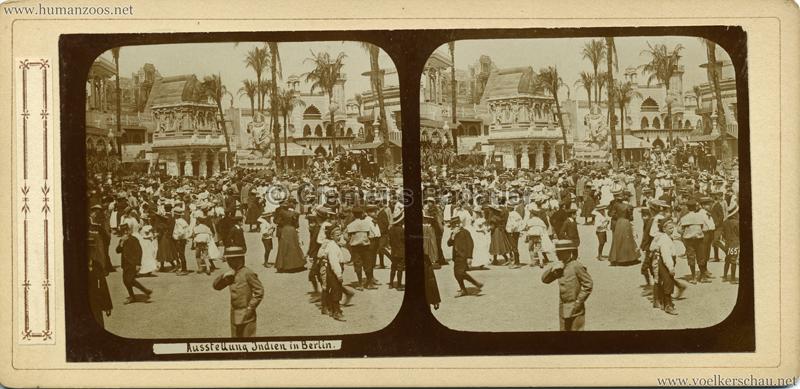 1898 Carl Hagenbeck's Indien - Ausstellung Indien in Berlin 165