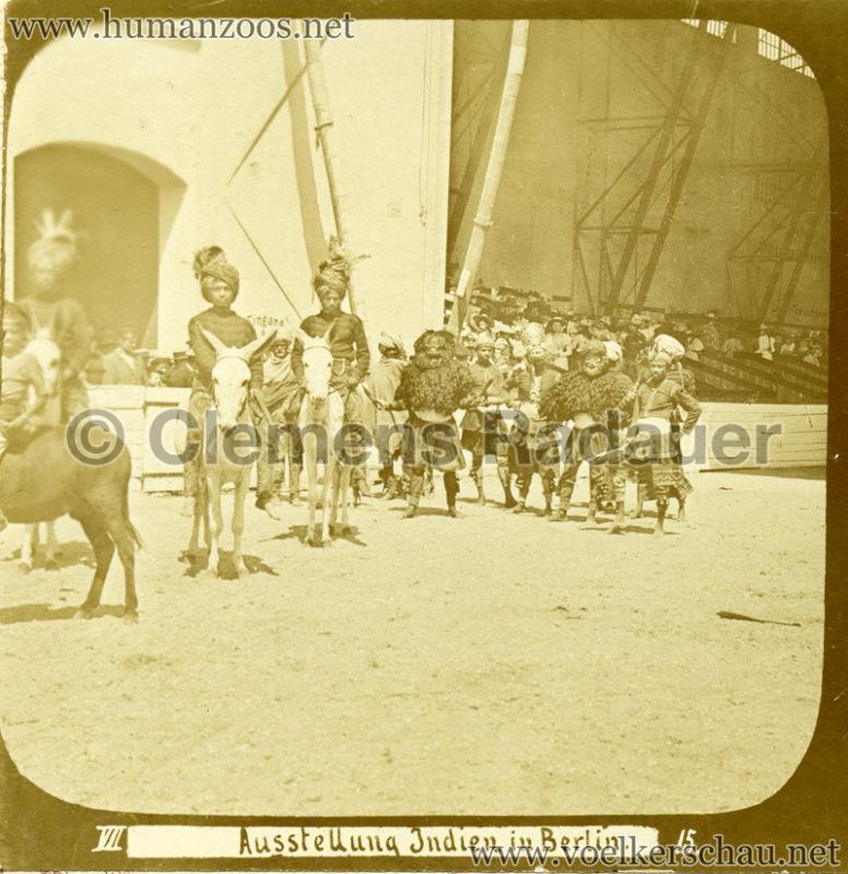 1898 Carl Hagenbeck's Indien - Ausstellung Indien in Berlin 166 detail