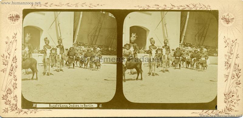 1898 Carl Hagenbeck's Indien - Ausstellung Indien in Berlin 166