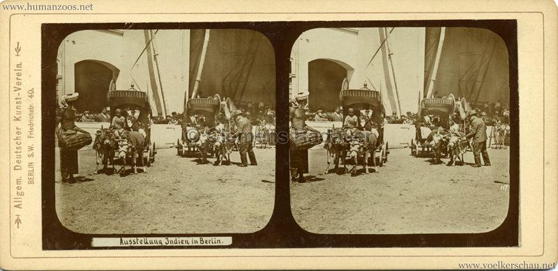 1898 Carl Hagenbeck's Indien - Ausstellung Indien in Berlin 167
