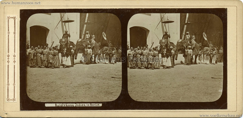 1898 Carl Hagenbeck's Indien - Ausstellung Indien in Berlin 168