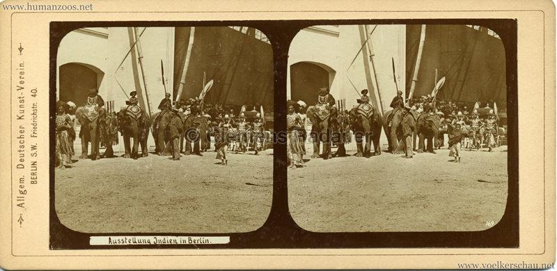 1898 Carl Hagenbeck's Indien - Ausstellung Indien in Berlin 169