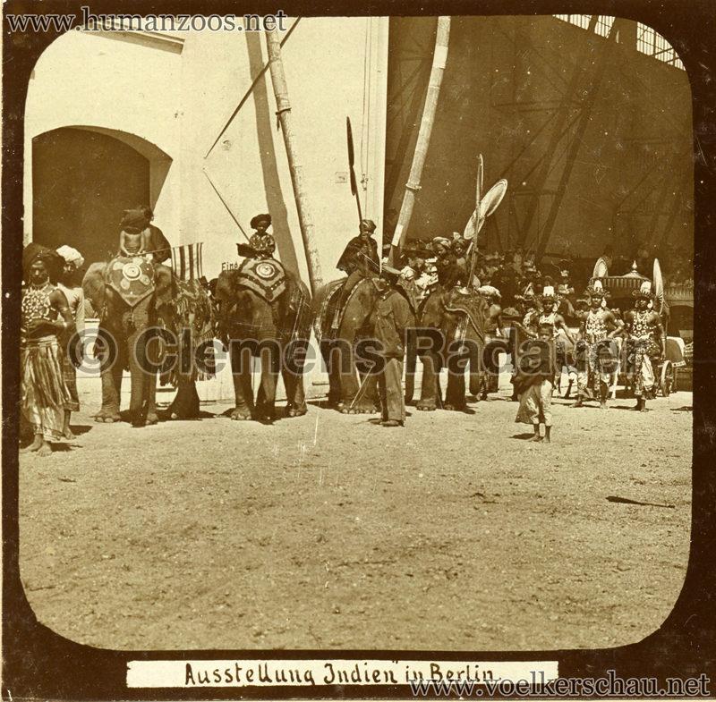 1898 Carl Hagenbeck's Indien - Ausstellung Indien in Berlin 169 detail