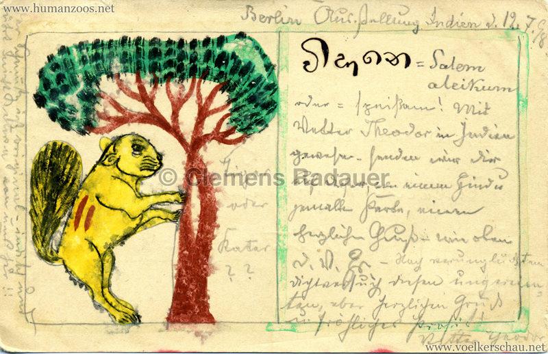 1898 Carl Hagenbeck's Indien - Löwe