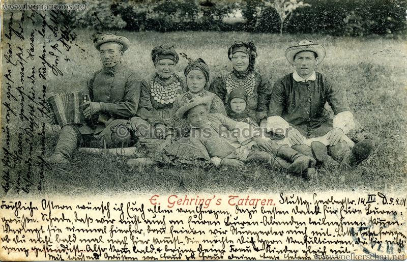 1898 E. Gehring's Tataren