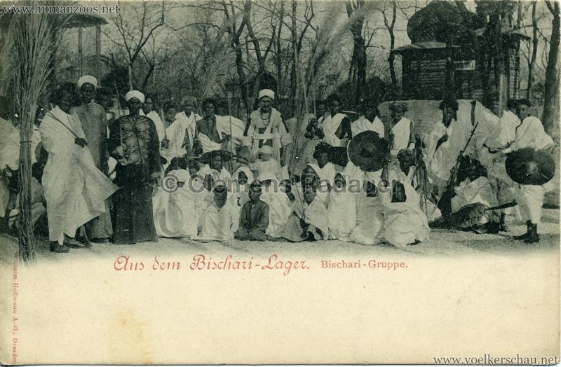 1899 Aus dem Bischari-Lager 1