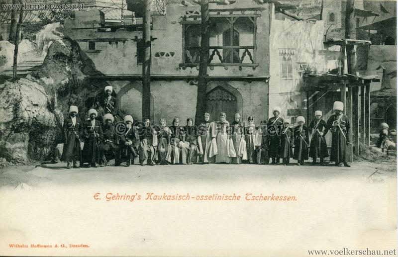 1900 E. Gehring's Kaukasisch-ossetinische Tscherkessen