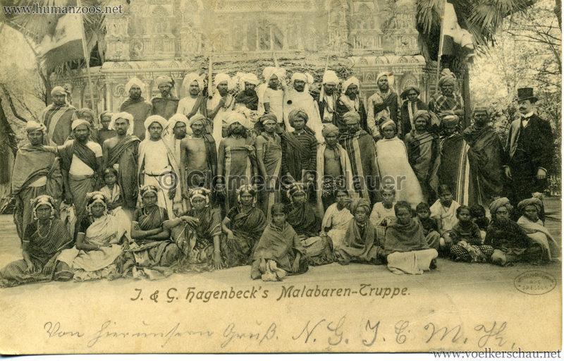 1900/1901 J. & G. Hagenbeck's Malabaren-Truppe 3