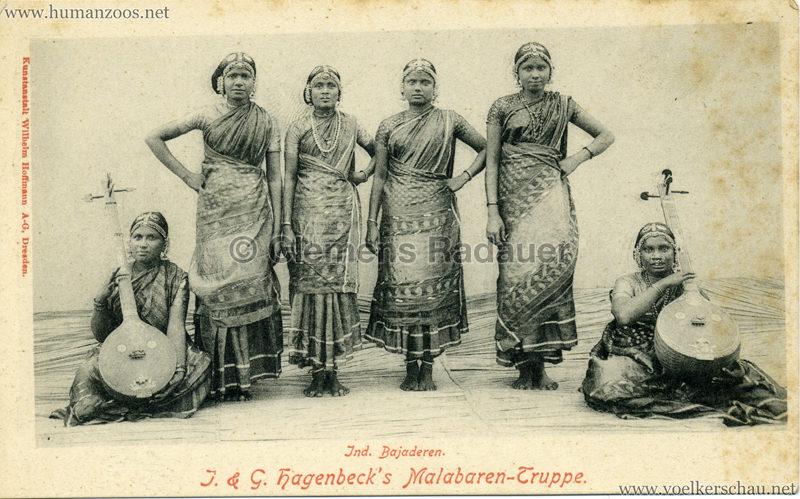1900/1901 J. & G. Hagenbeck's Malabaren-Truppe 7