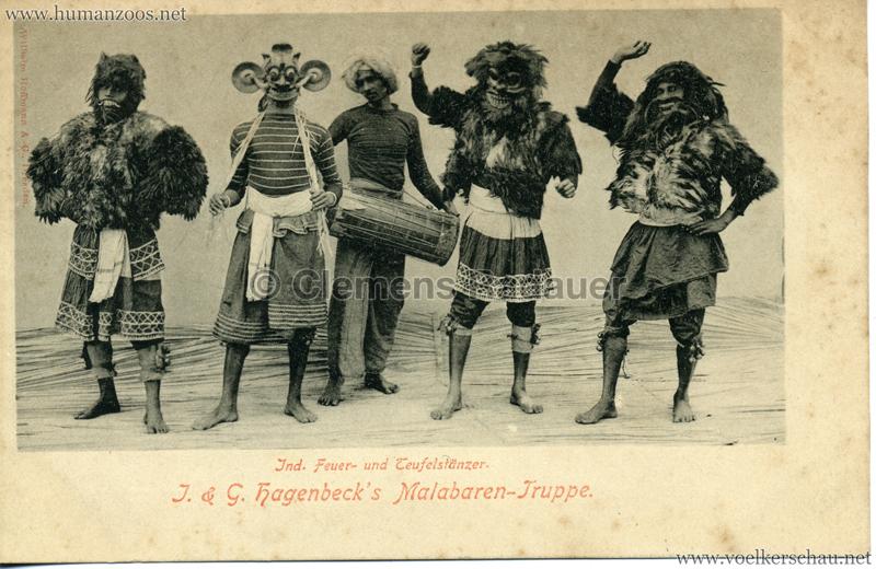 1900/1901 J. & G. Hagenbeck's Malabaren-Truppe 6