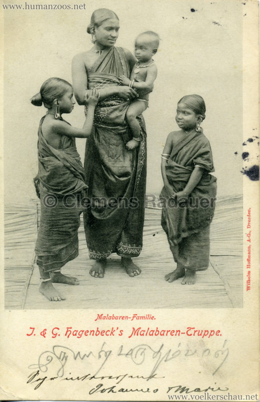 1900/1901 J. & G. Hagenbeck's Malabaren-Truppe 8