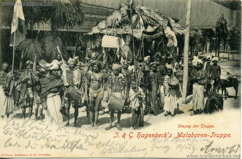 1900/1901 J. & G. Hagenbeck's Malabaren-Truppe 4