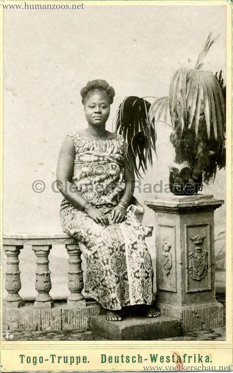 1901 Togo-Truppe. Deutsch-Westafrika 1