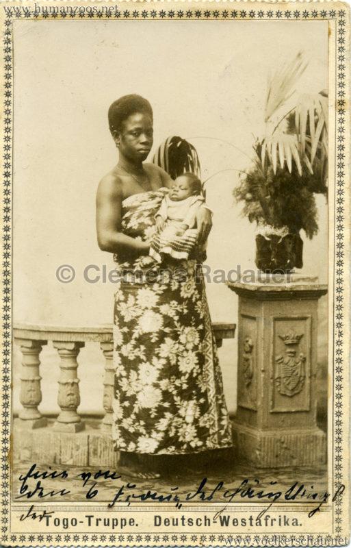 1901 Togo-Truppe. Deutsch-Westafrika 2