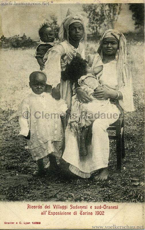 1902 Esposizione di Torino - Villaggi Sudanesi e Sud-Oranesi 2
