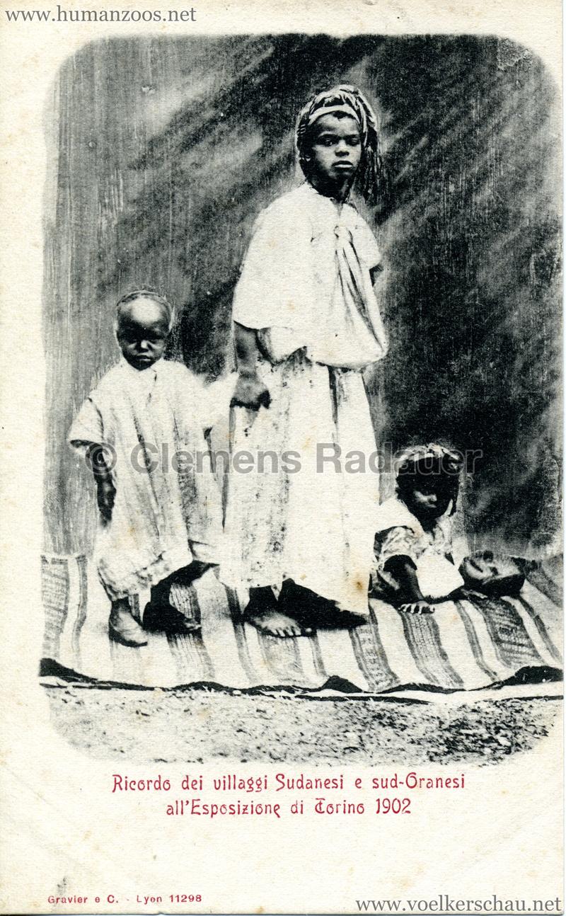 1902 Esposizione di Torino - Villaggi Sudanesi e Sud-Oranesi 1