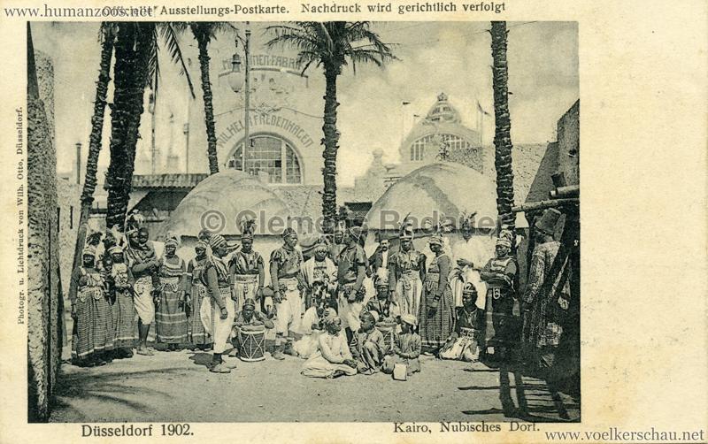 Len Düsseldorf 1902 industrie gewerbeausstellung düsseldorf human zoos