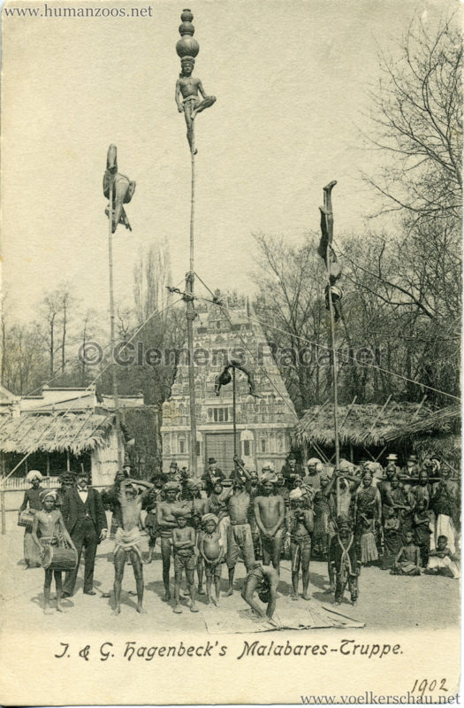 1902 (?) J. & G. Hagenbeck's Malabares-Truppe 3