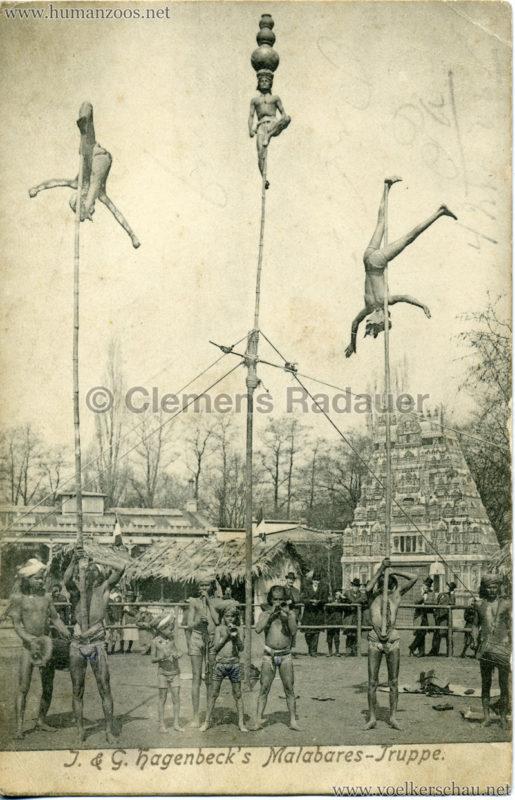1902 (?) J. & G. Hagenbeck's Malabares-Truppe 2