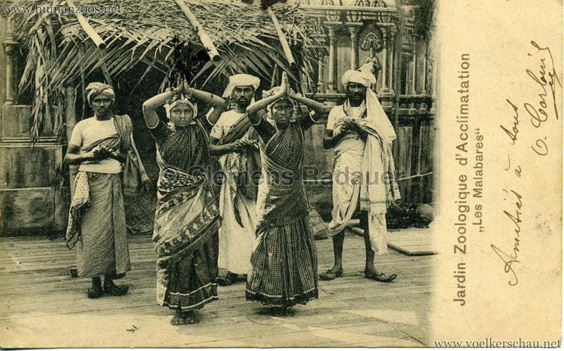 1902 Jardin Zoologique d'Acclimatation - Les Malabares 10