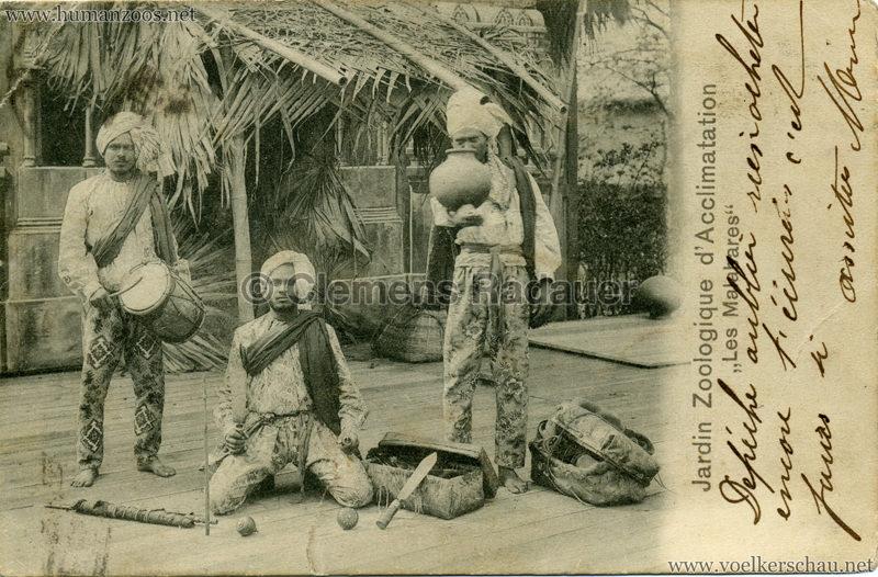 1902 Jardin Zoologique d'Acclimatation - Les Malabares 8