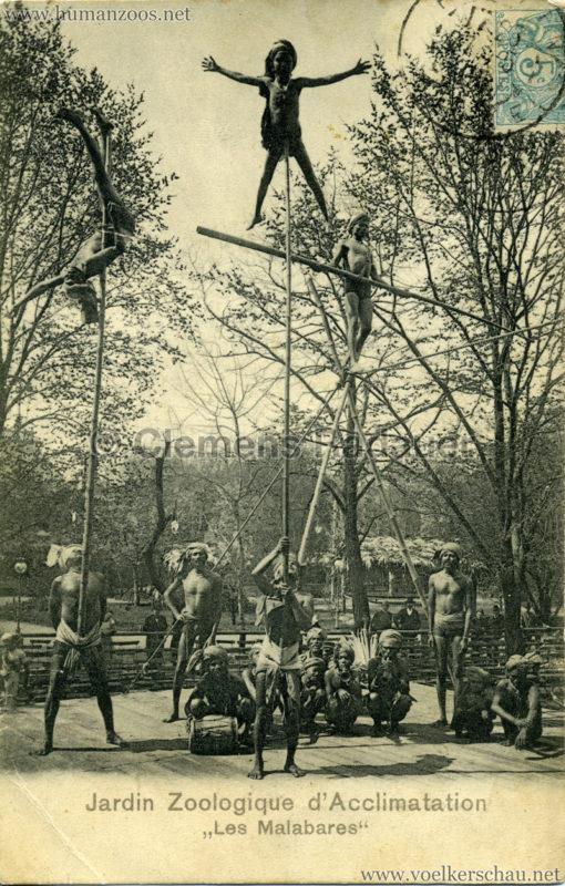 1902 Jardin Zoologique d'Acclimatation - Les Malabares 12