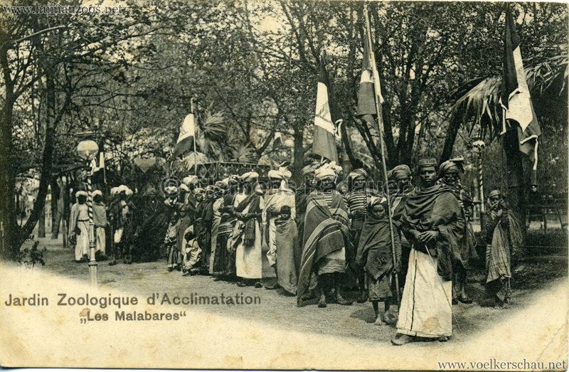 1902 Jardin Zoologique d'Acclimatation - Les Malabares 2