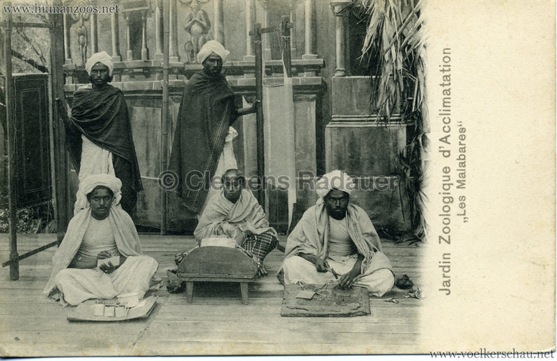 1902 Jardin Zoologique d'Acclimatation - Les Malabares 6