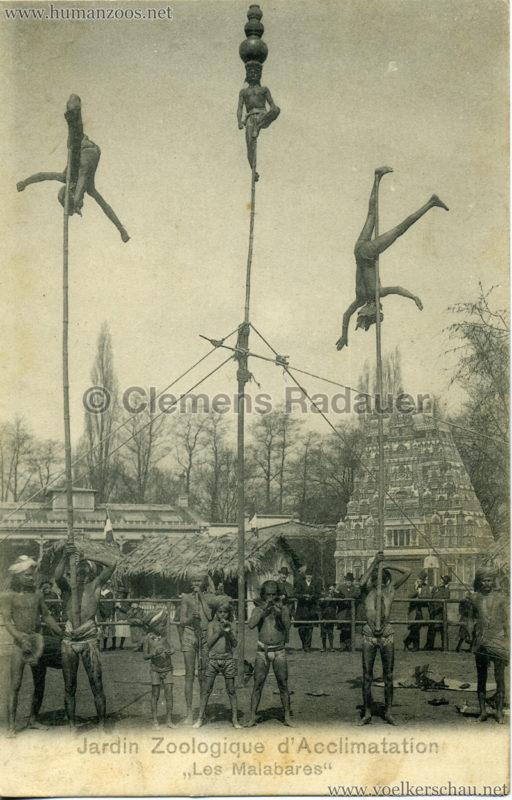 1902 Jardin Zoologique d'Acclimatation - Les Malabares 11