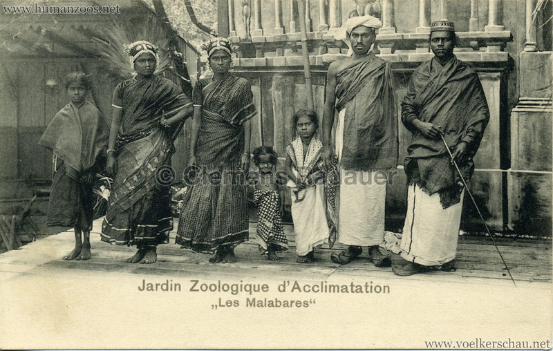 1902 Jardin Zoologique d'Acclimatation - Les Malabares 5