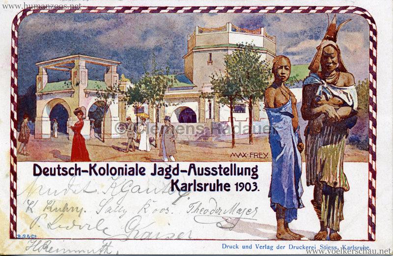 1903 Deutsch-Koloniale Jagd-Ausstellung Karlsruhe