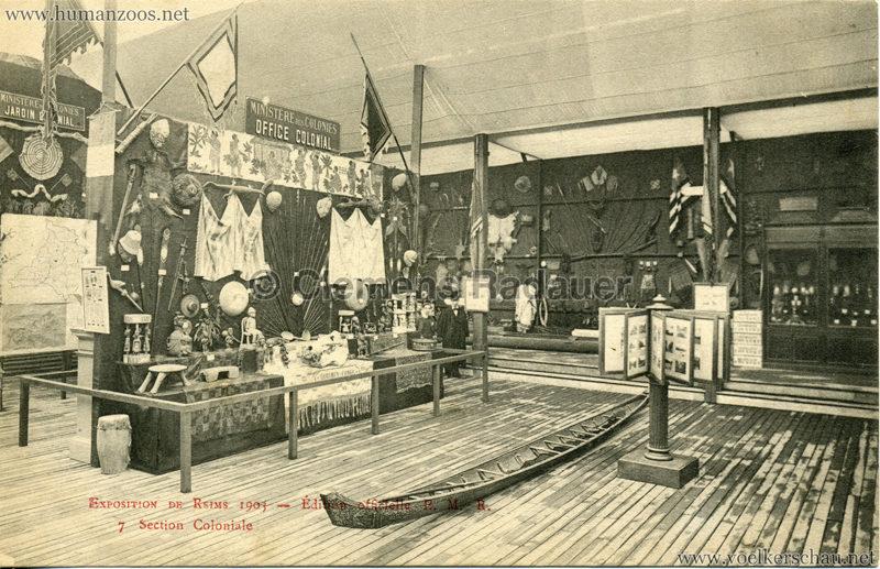 1903 Exposition de Reims - 7. Section Coloniale