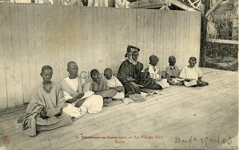 1903 Exposition de Reims - 9. École