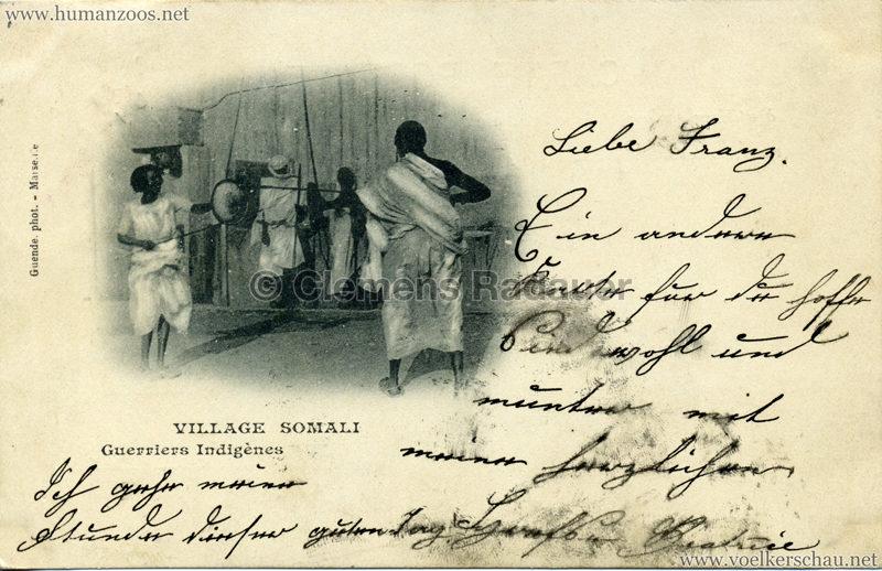 1904 Bradford Exhibition - Somali Village.