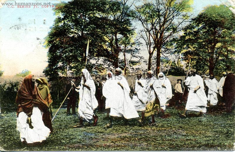 1904 Bradford Exhibition - Somali Village . Warpath